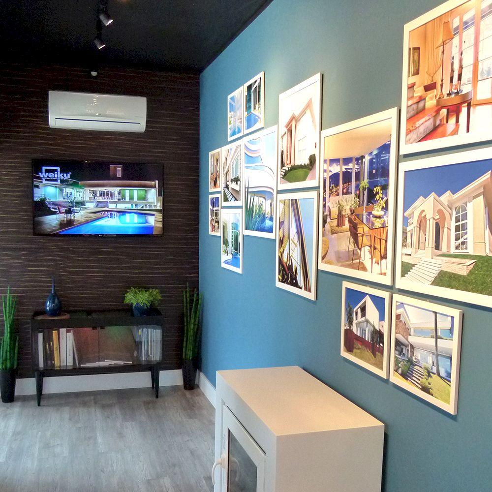 Reforma do novo showroom Weiku