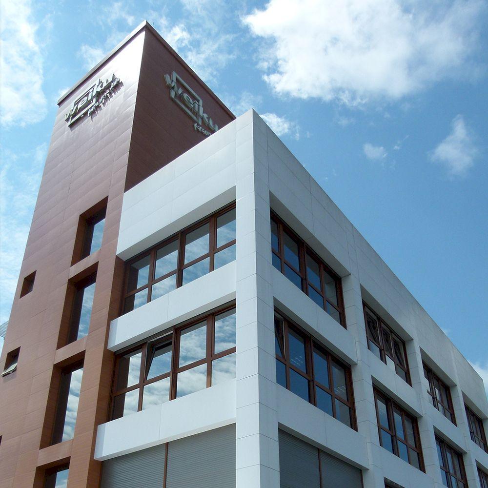 Novo prédio administrativo